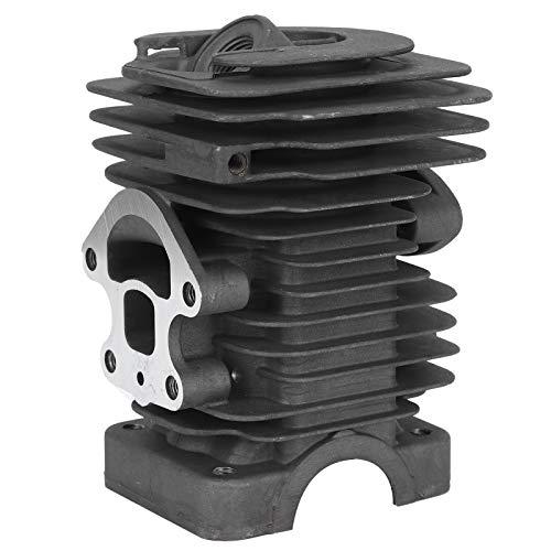 Fdit Conjunto de pistón de Cilindro de aleación de Aluminio Universal, Ajuste preciso para Motosierra Husqvarna 235, 236, 240, 235e 236e 240e