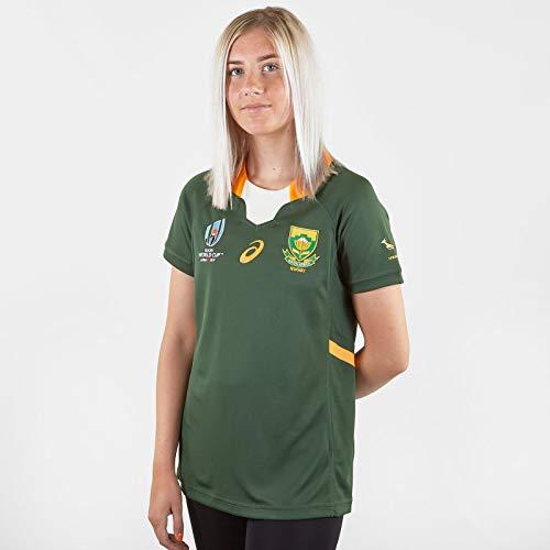 South Africa Springboks RWC 2019 - Maglietta da rugby da donna Verde M