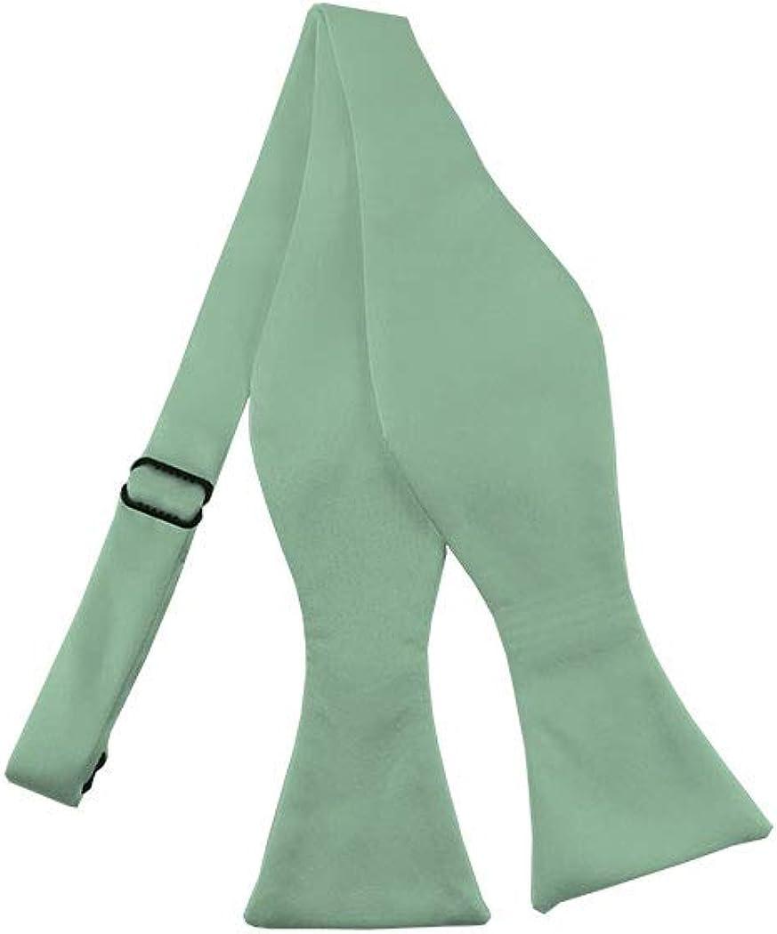 Solid Light Sage Green Self-Tie Bow Tie