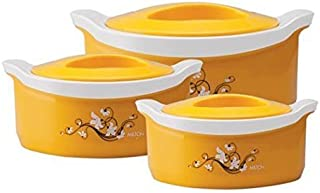 Milton Marvel Insulated Steel Casseroles, Junior Gift Set, 3 Pieces (Assorted)