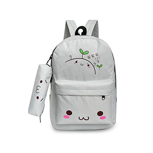 Schoudertas moeder tas vrouwelijke tas afdrukken reizen canvas casual student kleine rugzak kopen grijs