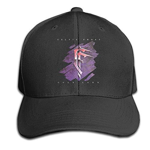 Celtic Frost Cap Fun Adjustable Baseball Cap Casual Dad Ball Hat for Men Womens Black