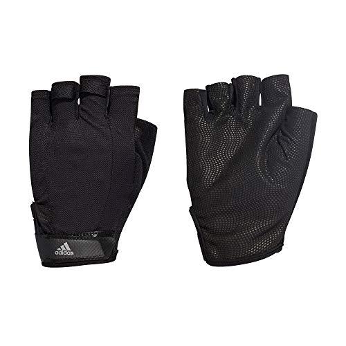 Adidas Versatile Climalite, guanti Black/Black/Iron Metallic, 2XL