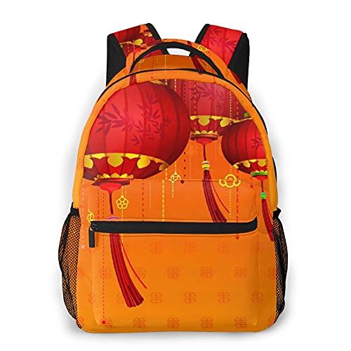 LUDOAN Mochila para portátil de viaje,linterna roja,mochila antirrobo resistente al agua para empresas,delgada y duradera
