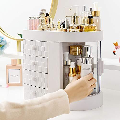 Chaos Transparente Acryl-Kosmetik-Aufbewahrungsbox, tragbarer Schreibtisch-Organizer, Schublade, Aufbewahrungseimer, Badezimmer, wasserdicht