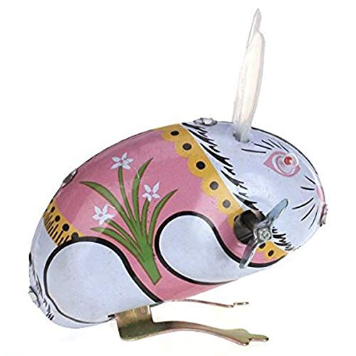 TOOGOO Spielzeug-Mechanisches Altes Metall Kaninchen Küken Frosch Vogel Sammlung Geschenke Für Kinder