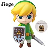 Jiege The Legend of Zelda: Wind Waker Link Mini Figure Action Figure-3.93' H (10cm)