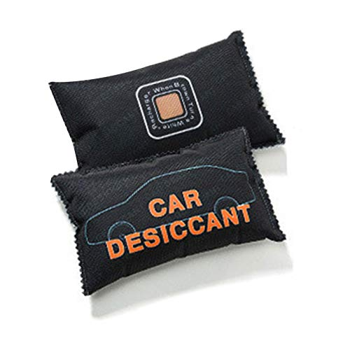 Beeyuk Deumidificatore Borsa deumidificatore per auto Borsa per purificare l'aria al carbone, deodorante per armadio, deodorante, deumidificatore, assorbitore Per auto, camion, furgoni e SUV e benefit