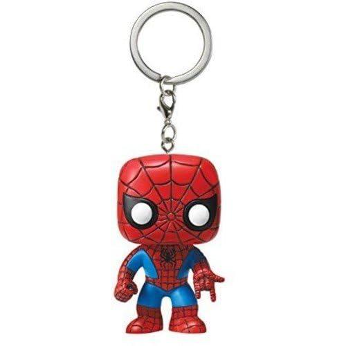 Amazon.com: Funko POP! Marvel Keychain: Spider-man: Funko ...
