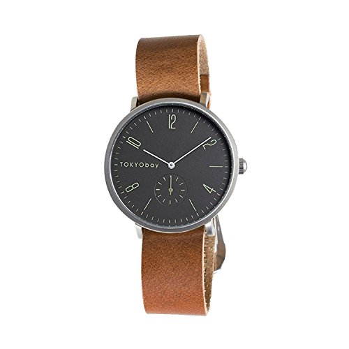 Tokyobay Noah NATO Watch, Brown/Black