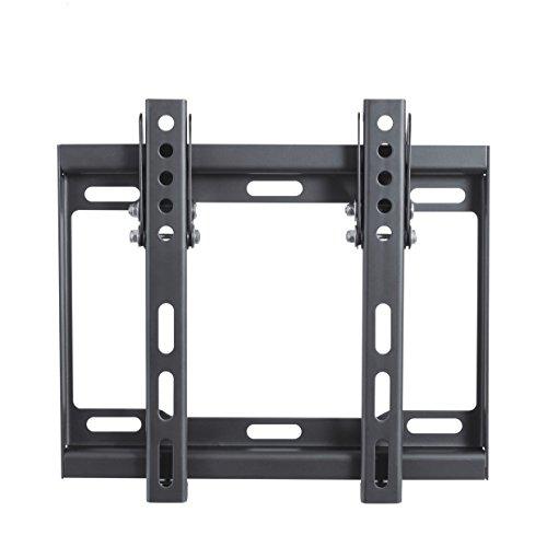 conecto CC50261 Wandhalterung für TV Geräte mit 58-107 cm (23-42 Zoll), neigbar -14° bis 0°, Wandabstand 25mm, Traglast max. 35,0kg, VESA 200x200, schwarz