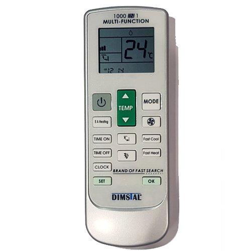 Universal Fernbedienung für Klimaanlage Klimagerät 1000 in 1 - Ersetzt alle Funktionen