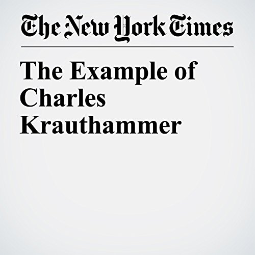 The Example of Charles Krauthammer copertina