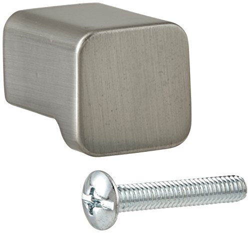 Moen YB8805BN 90 Degree Cabinet Knob and Drawer Pull, Brushed Nickel