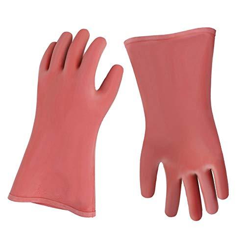 Isolierte Handschuhe, 12 kV Hochspannungsisolierte elektrische Sicherheitsisolierhandschuhe für Elektriker