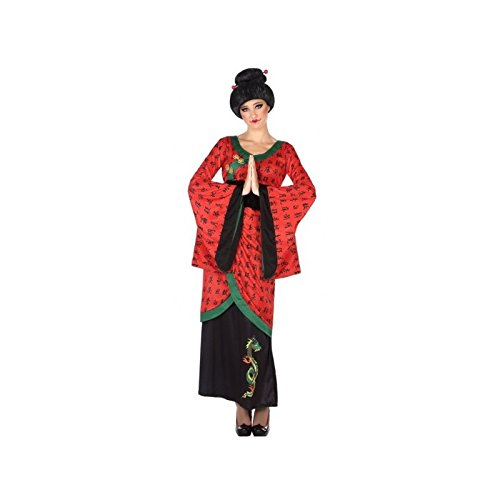 Atosa-53867 Disfraz China, Color Rojo, M-L (53867)