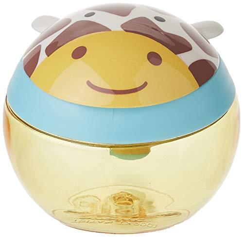 Skip Hop Zoo Snackcup, Snackbox, Aufbewahrungsbehälter für Kinder, mehrfarbig, Giraffe Jules