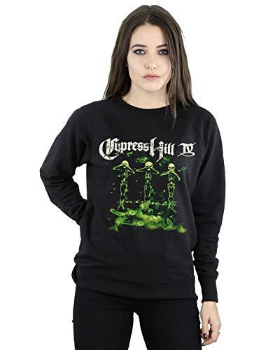 Absolute Cult Cypress Hill IV Album Sweat-shirt pour femme - Noir - XX-Large