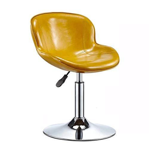 Chaises de bureau Chaise De Bar Tabouret De Dossier Maison Chaise d'apprentissage Tabouret De Salon De Beauté Rotation 360 ° Peut Supporter 150 Kg