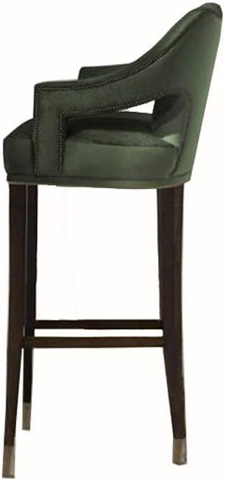 MIAO. Solid Wood Direct stock Cheap bargain discount bar Creative Chair Recepti high