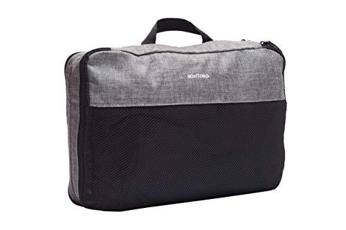 SONTOKO Packing Cube Set M I Packtasche für Rucksack und Koffer I extra Fach für Schmutzwäsche I Packwürfel, Kleidertasche & Kofferorganizer