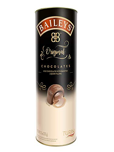 Turin Baileys Original Irish Cream Chocolates | Turin Tube Milk Chocolate with 200g Plus 1 Turin 70 Cacao Bar
