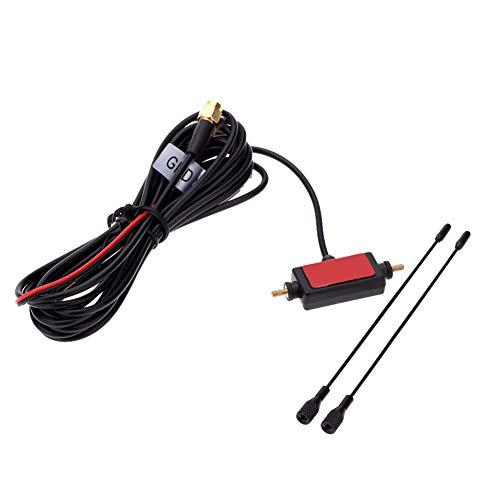 Coche Automóvil SMA Activo Antena W// Amplificador para Digital TV Fuerte Señal