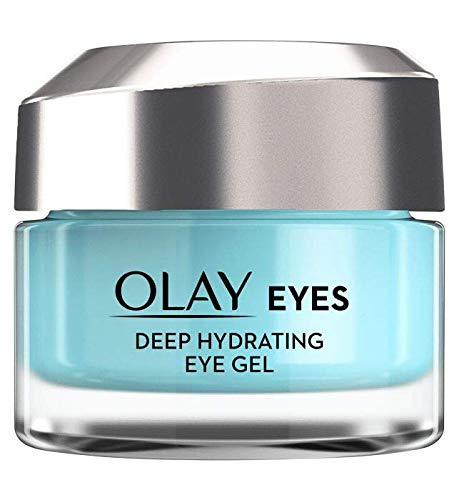 Olay Eyes Deep Hydrating Eye Gel With Hyaluronic Acid For Tired Eyes, 15ml