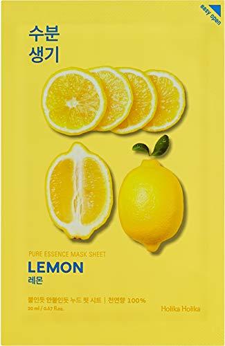 Holika Holika Pure Essence Mask Sheet Gesichtsmaske Lemon Zitrone 1pc