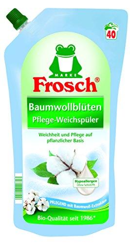 Frosch Baumwollblüten Weichspüler, 2er Pack (2 x 1 l)