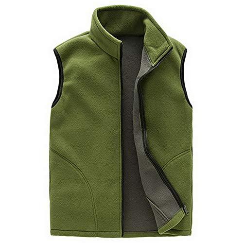 Polar fleece vesten voor heren spring/warm vest man navy waistcoat mannelijk mouwloos jack heren vest