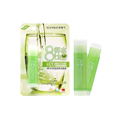 Cutelove bálsamo labial hidratante 8 tazas agua bálsamo