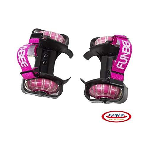 Funbee ofun351-f Rollen für Schuhe Mädchen, rosa