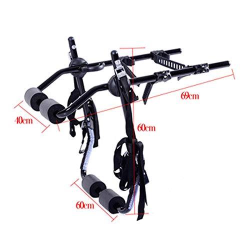 JBZP Portabicicletas para Coche - Portaequipajes para Bicicleta O para VehíCulo Portaequipajes...