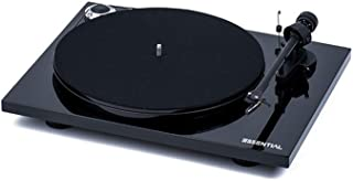 Pro-Ject Essential III Bluetooth Turntable - Gloss Black with Ortofon OM 10e