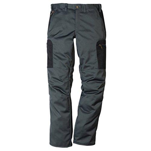 FRISTADS KANSAS Workwear 100457Hose Gr. 50W x 33L, grau