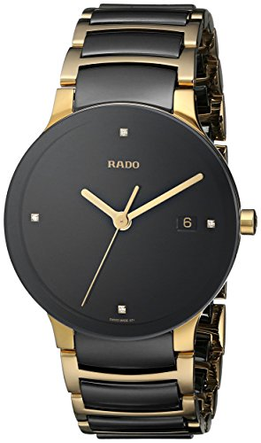 Rado R30929712 Herren-Armbanduhr, goldfarben