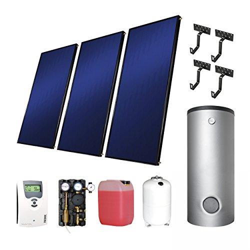 Westech Solar ES Komplett 1+TRSS150 Flachkollektoren - Set 1 (2m²) + 150 L Brauchwasserspeicher