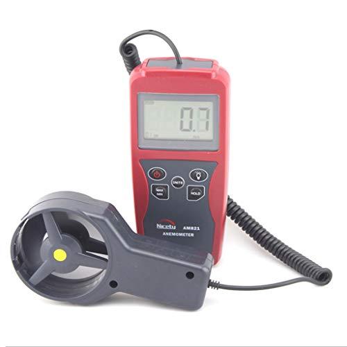 Zcyg Anemometer Wind Speed Meter Digital LCD Windmesser Luftgeschwindigkeitsmesser Hochpräzises Messen, mit Hintergrundbeleuchtung, zum Surfen, Angeln, Drachenfliegen