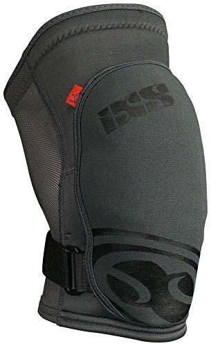 IXS Flow Knee Pad, Ginocchiere. Unisex-Adulto, Grigio Hans Rey, L