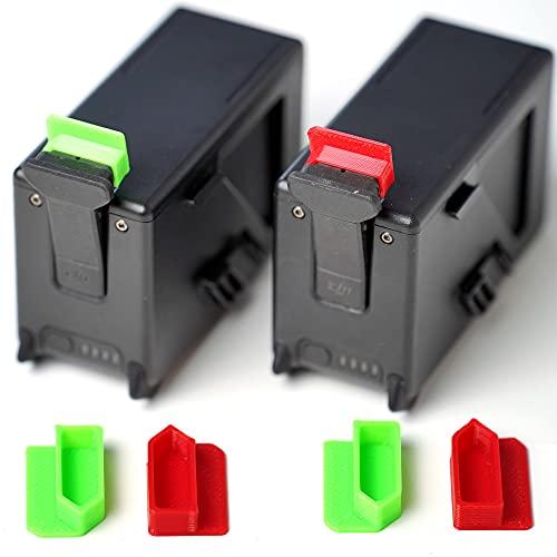 Tappi di protezione per batteria per drone DJI FPV, Battery Dustproof, copertura di protezione, indicatore di livello