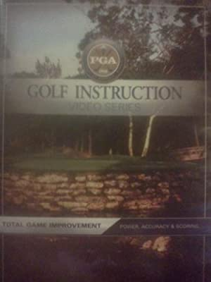 PGA Golf Instruction Video Series, Total Game Improvement, Power, Accuracy and Scoring