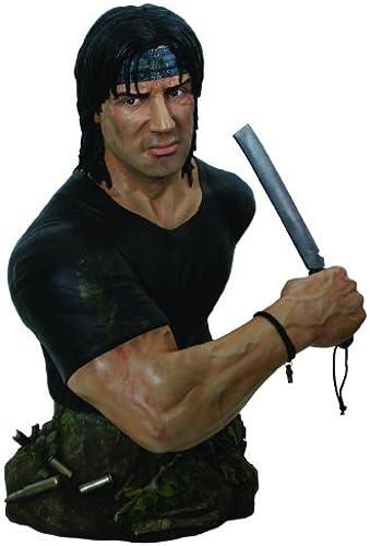 precio al por mayor Hollywood Collectibles Rambo  1 2 Scale Bust Bust Bust by Hollywood Collectibles  El ultimo 2018
