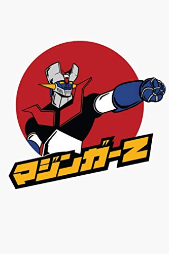Mazinger Z Notebook: (110 Pages, Lined, 6 x 9)