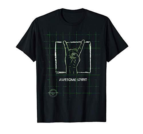 Awesome Spirit #1/3 - Blueprint of Rock & Roll T-Shirt