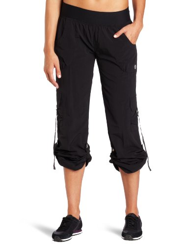 Zumba Fitness LLC Women's Feelin' It Samba Pant (Black, Large)