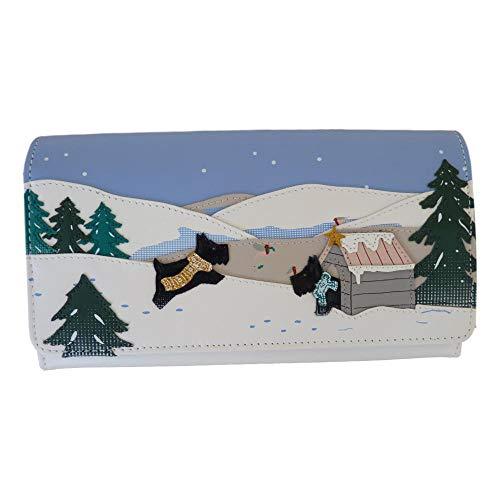 """Radley """"At Home In The Snow"""" große Signatur/Bild Leder Matinee Geldbörse"""