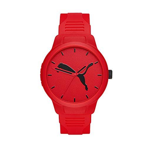 Puma Reset - Reloj de Hombre de Poliuretano Rojo V2 - P5003