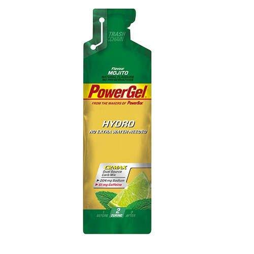 PowerBar PowerGel Hydro 12 x 67ml Beutel Cola Koffein