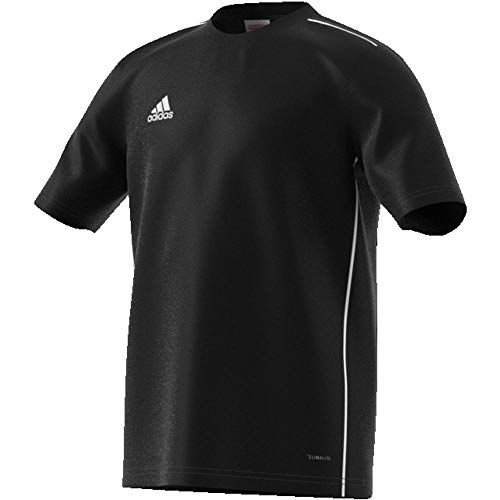 adidas Kinder Core 18 Trikot, Black/White, 164